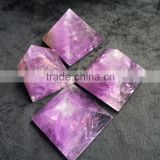 Natural Amethyst Pyramid With Healing Function Crystal Stone Ornaments