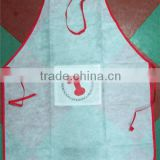 Halter-neck Style Sleeveless Kitchen Cooking Apron with Pocket Cooking Cotton Apron Bib(White)