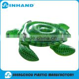 2016 eco friendly tortoise pvc inflatable float lounger ,beach air mattress valve