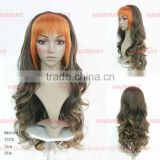 half wig silky human hair touch