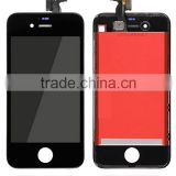 Black color mobile phone lcd zero defect lcd screen for iphone 4s