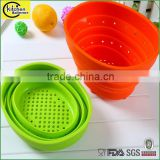 silicone collapsible laundry basket