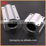 2x SC8UU SCS8UU Linear Motion Ball Bearings Slide Block Bushing For 8mm Linear Shaft Guide Rail CNC Parts