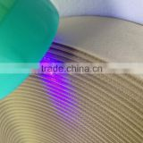 High quality customized anti-counterfeiting ribbon, 100% polyester double face woven ribbon