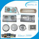 INquiry about bus coach air conditioning parts air vent outlet grill with reading lamp