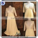 PP0163 Chiffon chinese wedding dress mother of the bride beach wedding dress with sleeves