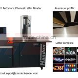 3D sign metal letter bending machine, channel letter fabrication machine, sign letter making equipment
