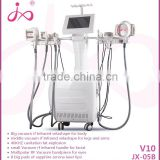 Non Surgical Ultrasonic Liposuction Vacuum Cavitation System Type And Weight Loss Fat Burning Feature Vacuum+cavitation+RF+infrared Four Cooling Pads Velashape Fat Freezing