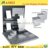 2013 Hot acrylic jewelry plate display stand/Customized acrylic jewelry plate display stand