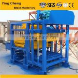 China made german technology qt4-25 cinder paving block moulding machine