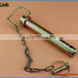 Zinc yellow Trailer parts Hitch Pin with wire lock pin