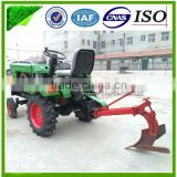 Shandong Factory supply best price 15hp,12hp mini tractor (power tiller)with rotary tiller,plough and seeder