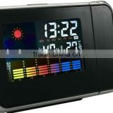 New Christmas gift LCD weather project clock 1 day delivery