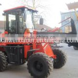 High tire 4WD ZL1500 wheel loader attachments