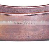 100% Pure Copper Bathtub antique finish,handmade,hot selling,brass feets