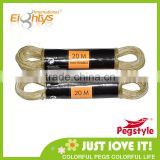 2014 clothesline pulley made in china hot saled outdoor plastic clothesline rope with wire
