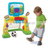 new basketball &football sports center toy for kids from china supplier on alibaba