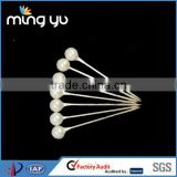 High Quality Plastic Pearl Headed Metal Pin 2.6cm For Shirt Packing
