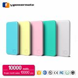 High-energy ultra thin rohs double usb output portable mobile power bank 10000mah