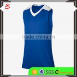 2017 customized new design basketball uniform men's sleeveless reversible cheap basketball jersey
