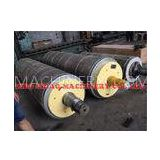 Stone Roll , Paper Mill Rolls for Dewatering Paper Machine Press Section / Adding Paper Physical Pro