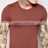 Wholesale custom fashion plain lightweight cotton men T shirts