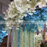 100cm Fake Silk cherry blossom Vine Artificial Dense Flowers For Home Wedding Decoration Hanging Garland Decor