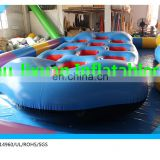 cheap price 10 person water sled inflatable towable/flying inflatable water sled