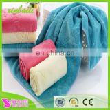 gaoyang towels microfiber face towels soft embossing children towel