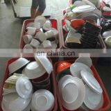 wholesale cheap sell in kgs plastic tableware stock plastic bowl stock