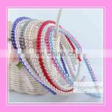 Korean style princess pearl elegant kids girls pearl headbands hair bands children hair prom ornament accessories