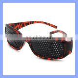 Eyes Exercise Eyesight Vision Improve Glasses Leopard Perforated Glasses