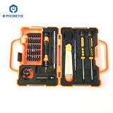 JM-8139 45-IN-1 Multi-Bit Screwdriver Set Spudger Tweezers for Mobile Phone Tablet repair