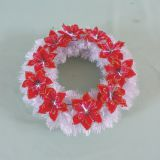 Artificial christmas wreath