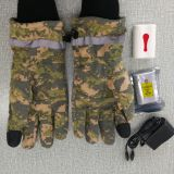 camo safety heated gloves