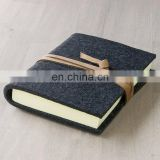 2019 new trend customized Felt diary cover notebook