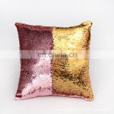 Decorative wholesale fancy custom mermaid sequins cushion cover
