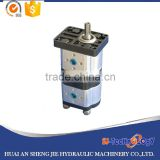 10cc professional 2CBN hydraulic double gear pump producer in jiangsu