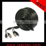 Video Power CCTV Security Camera Cable BNC Connector