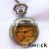 Antique Style and Not Specified Case Material Custom enamal pocket watch with CHAIN
