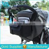 Durable Polyester Baby Diaper Bag Organizer Diaper Bag Hanging Baby Stroller Bag                                                                         Quality Choice