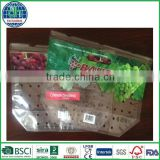 printed zipper banana fruit bag