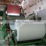 chinese exporter serive small scale and large capacity waste paper recycling machine to make toilet paper