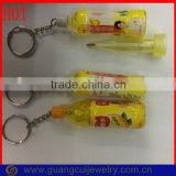 Factory direct sale beverage bottle ballpoint pen keychain                                                                         Quality Choice