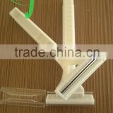 Hotel Disposable Safety Salon Razor Electric Razor Twin Double Blades /factory producer plastic razor
