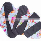 AnAnbaby Menstrual Pad Cloth Charcoal Bamboo Sanitary Pads Wholesale China for Choice