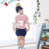 japan girl infants baby toddler clothing cute t-shirts border clothes Japanese high quality wholesale products