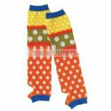 Japanese wholesale products cute and high quality infant wear kids clothes baby and toddler leg warmers polka dot made in Japan