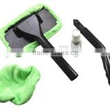 Windshield clean car auto wiper washing glass window brush set with long ABS handle