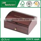 Gift box wooden pen box with drawer